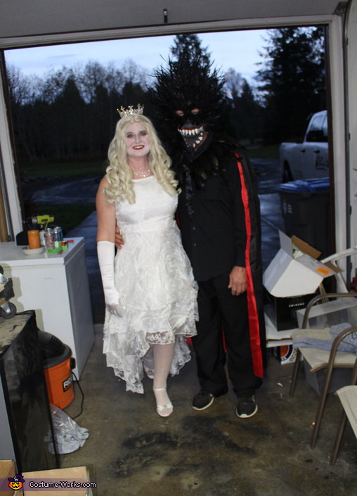White queen and jabberwocky, Alice in Wonderland Group Costume
