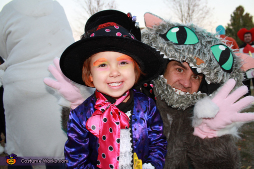 'We're all mad here!'  -The Mad Hatter, Alice in Wonderland Family Costume