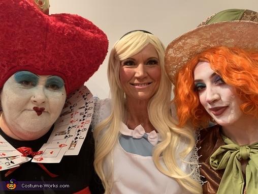 Makeup, Alice in Wonderland Costume