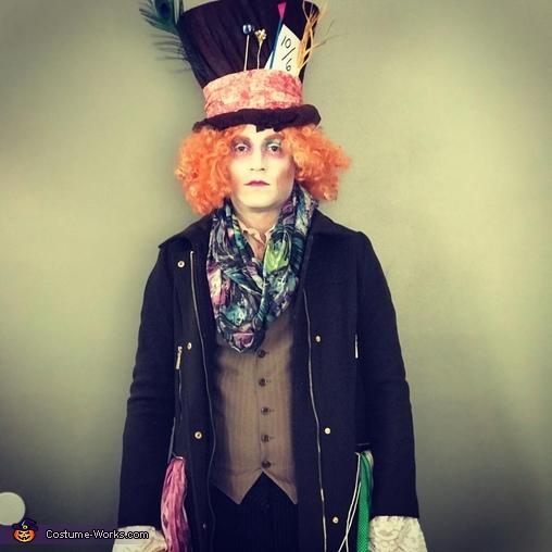 Mad Hatter, Alice in Wonderland Costume
