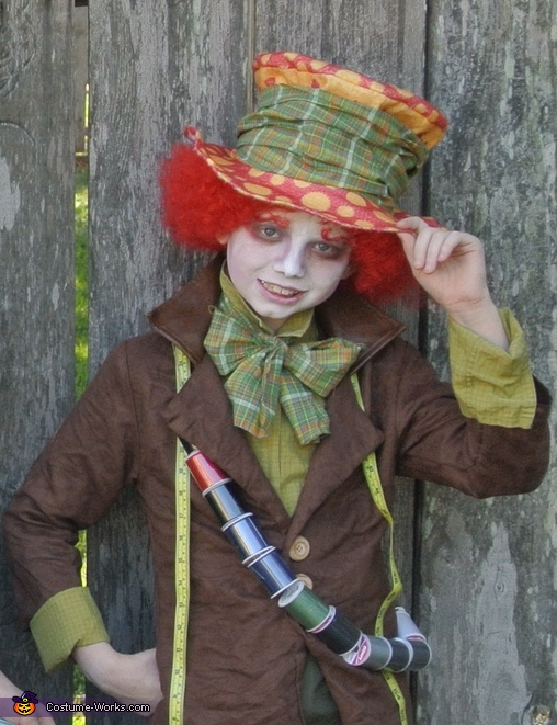 Sam  age 9, Alice in Wonderland Group Costume