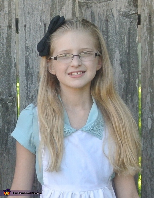 Hannah age 11, Alice in Wonderland Group Costume