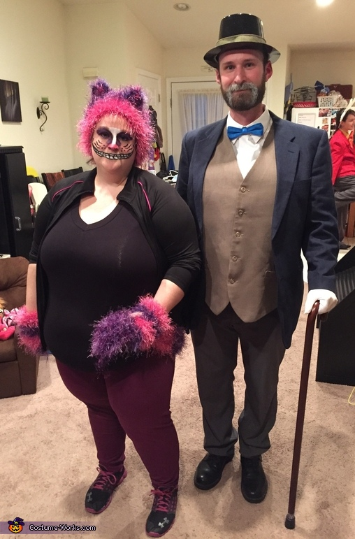 Cheshire Cat and the Walrus, Alice in Wonderland Group Costume