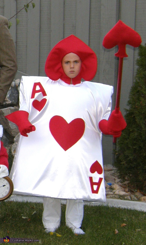 The Ace of Hearts, Alice in Wonderland Family Costume