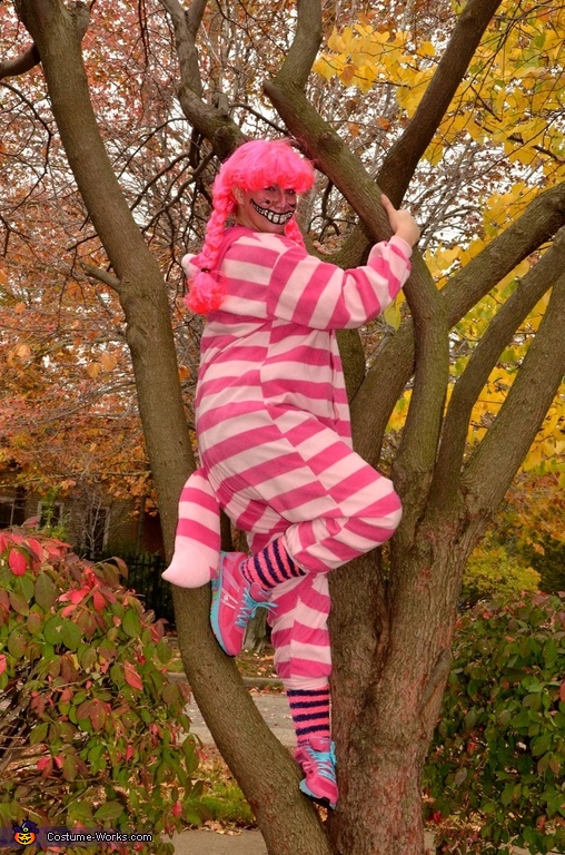 Cheshire 'Kat' - Katrina Blatt, Alice in Wonderland Cheshire Cat Costume