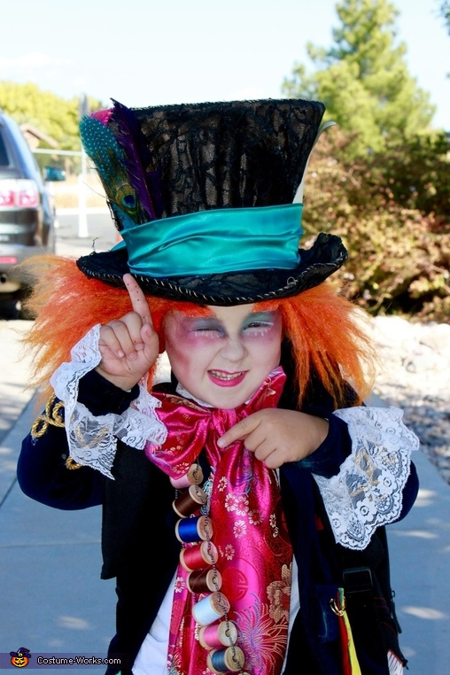 Mad hatter, Alice in Wonderland Costume