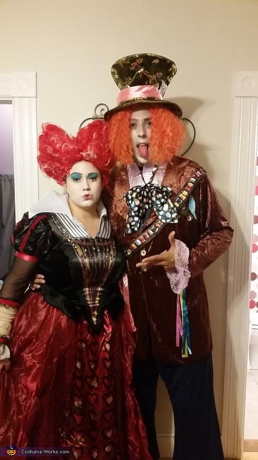 Alice In Wonderland Family Homemade Costume