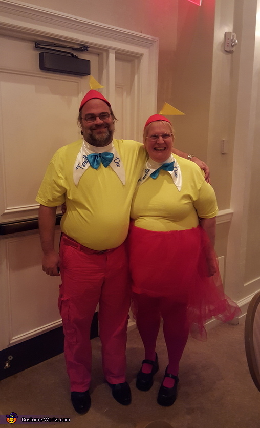 tweedle Dee tweedle Dum, Alice in Wonderland Group Costume