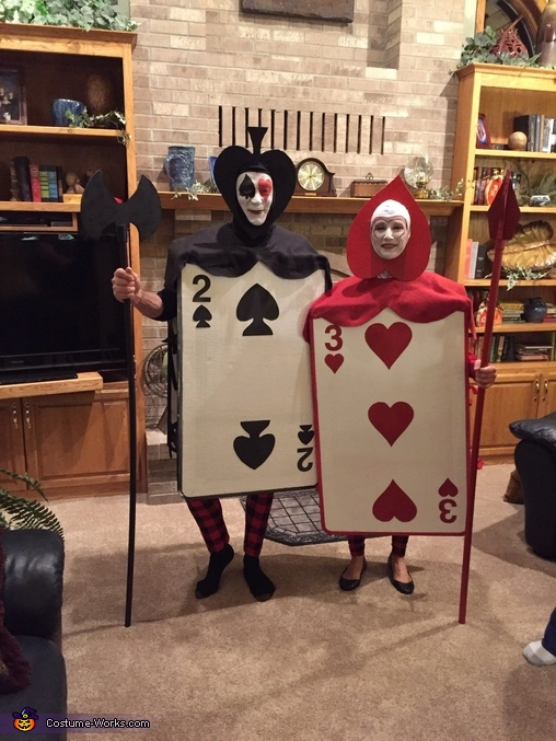 Card Guards, Alice in Wonderland Group Costume