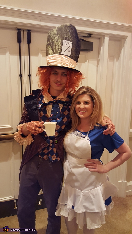 Mad Hatter, Alice, Alice in Wonderland Group Costume