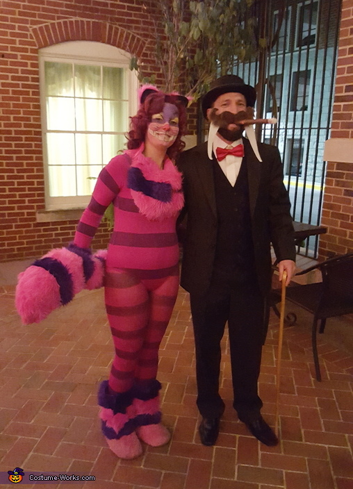 Cheshire Cat, Walrus, Alice in Wonderland Group Costume