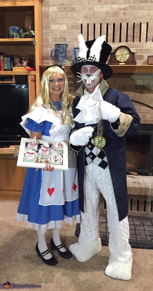 Alice and Rabbit, Alice in Wonderland Group Costume