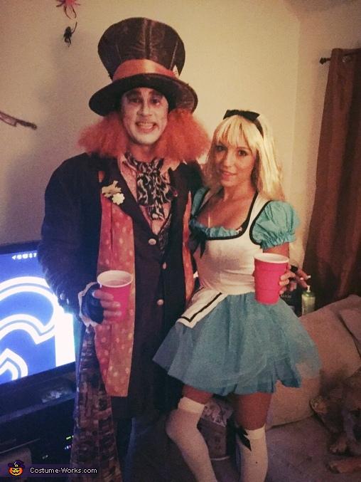 Alice in Wonderland & The Mad Hatter Costume