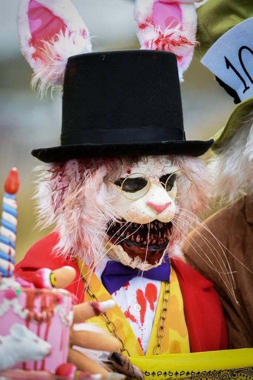 White Rabbit, Alice in Zombieland Costume