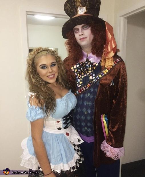 Alice & Mad Hatter Costume