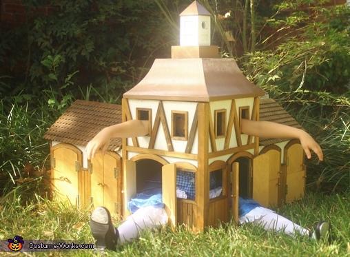 Mr. Dodo? Help!, Alice, Stuck in White Rabbit's House Costume