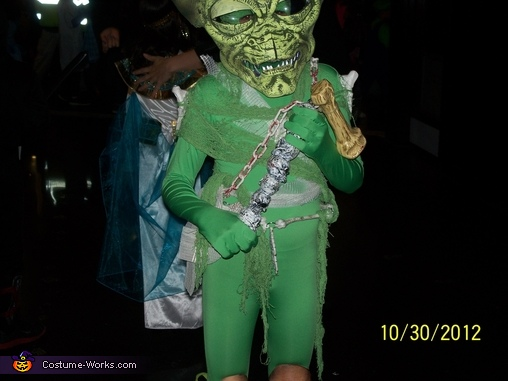Alien Bone Collector Homemade Costume