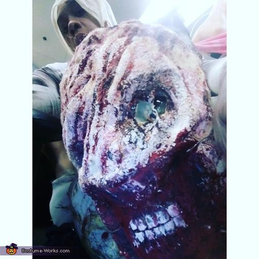Alien Centipede Homemade Costume