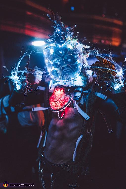 Alien Cyborg Fishman Costume