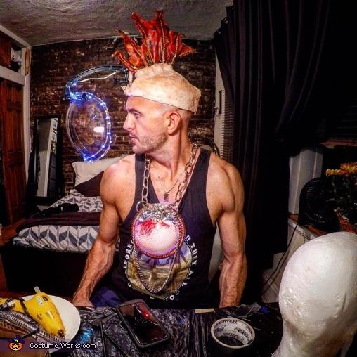 Alien Cyborg Fishman Homemade Costume