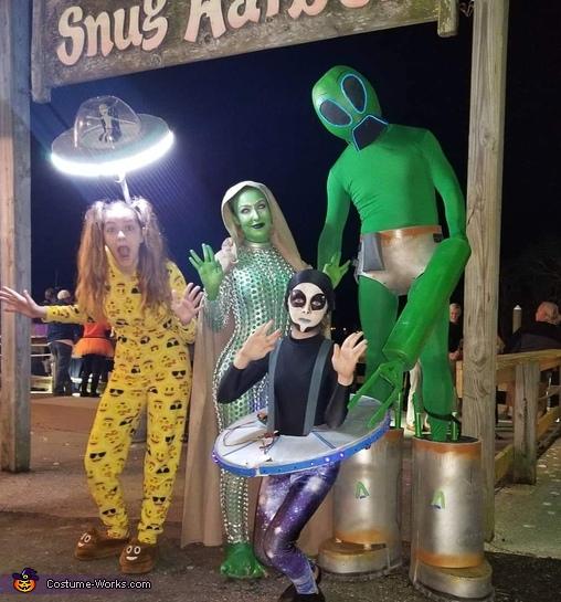 Alien Family Costume