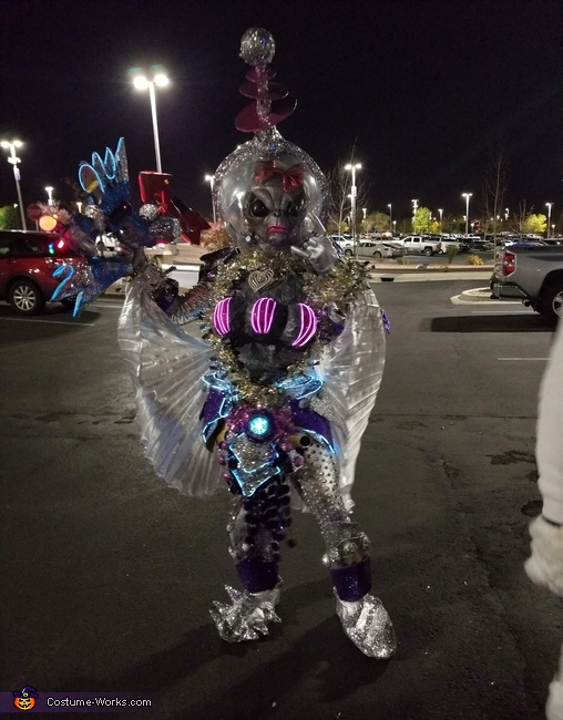 Alien Girl Costume