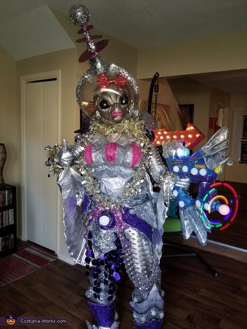 Alien Girl Homemade Costume