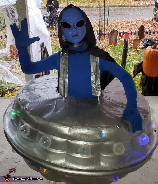 Alien Invasion Costume
