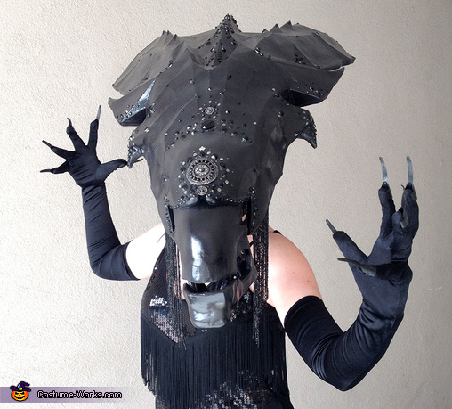 Alien Queen DIY Costume