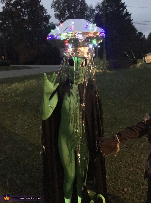 Alien Spaceship Costume