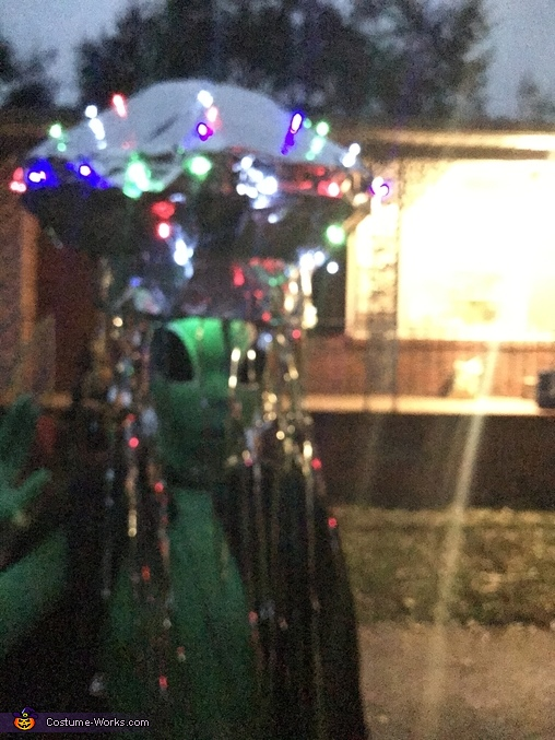 Alien Spaceship Homemade Costume