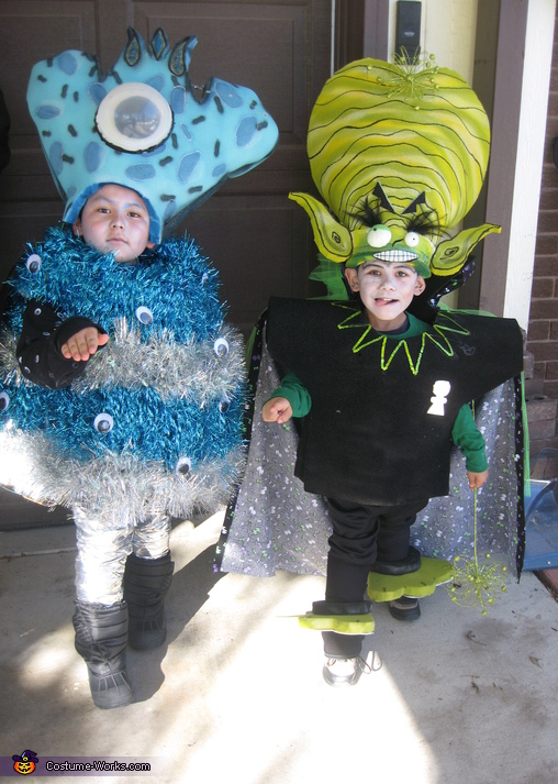 Aliens Halloween Costumes For Boys