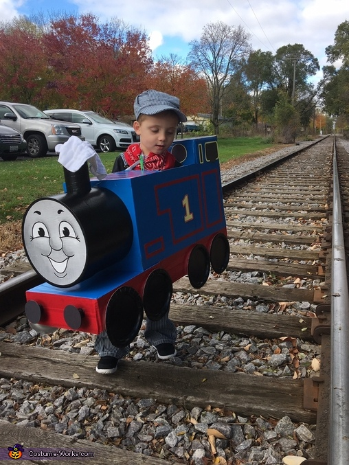 Leaving the Station, Thomas the Train Costume