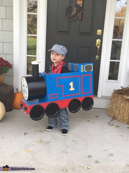 It's a great day to be Thomas the Train, Thomas the Train Costume