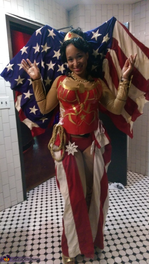 All American Wonder Woman Costume