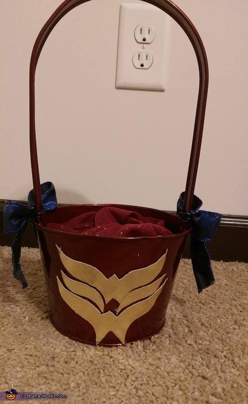 The Basket, All American Wonder Woman Costume