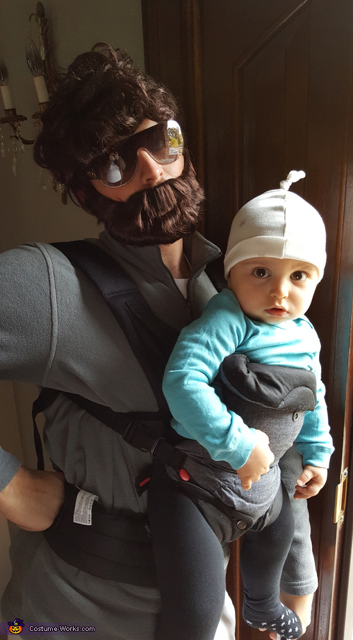 Allen and Baby Carlos Homemade Costume