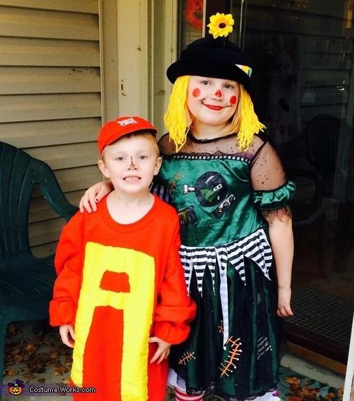 Alvin & Scarecrow Clown Costumes