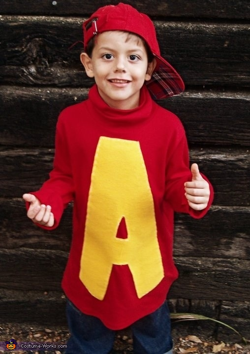 Alvin the Chipmunk - Homemade costumes for boys