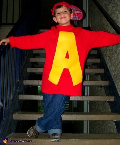 Alvin And The Chipmunks Costume Photo 2 4