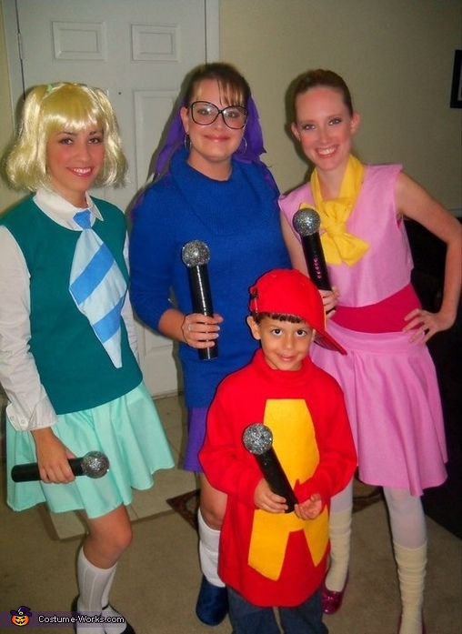 Alvin And The Chipmunks Costume Photo 3 4