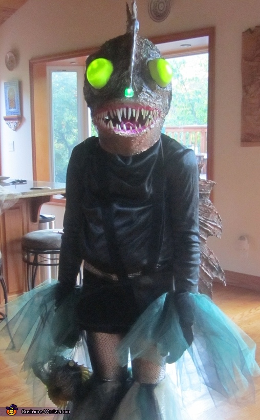 Angler fish Head, Angler Fish Costume