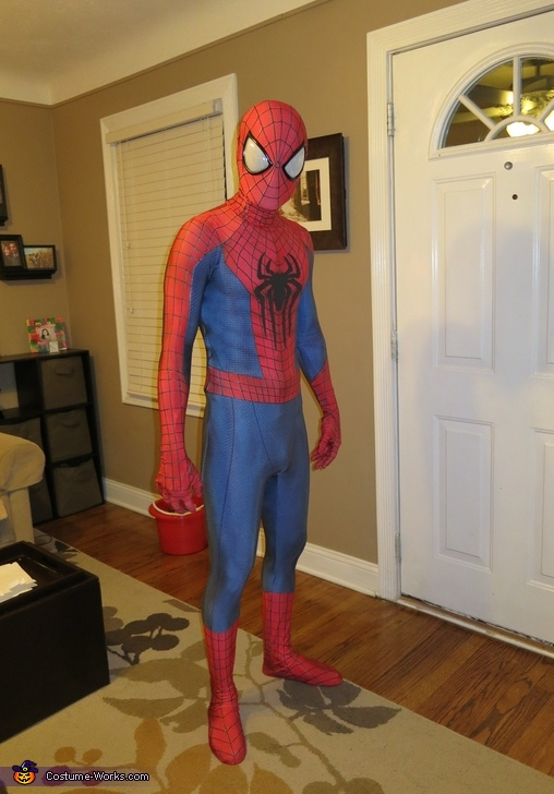 Amazing Spiderman 2 Costume