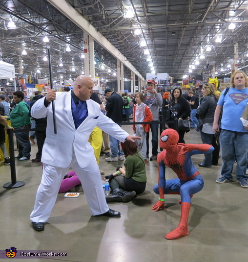 Amazing Spiderman 2 Homemade Costume