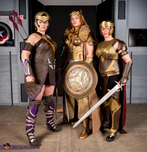 Wonder Woman Movie Amazons Group Costume
