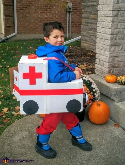 Ambulance and Ice Cream Truck Costume