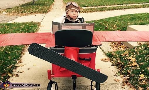Amelia Earhart Girl's Costume   How-To