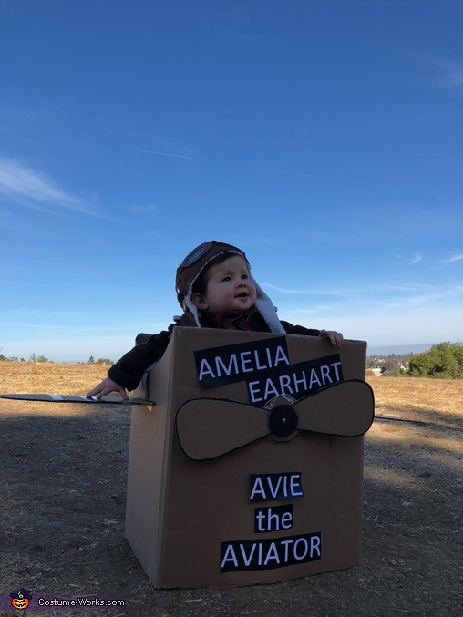 Inspiring Thoughts for the Future, Amelia Earhart Costume