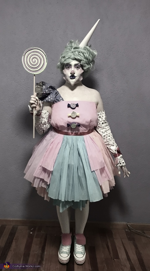 Amelia the Candy Queen Costume
