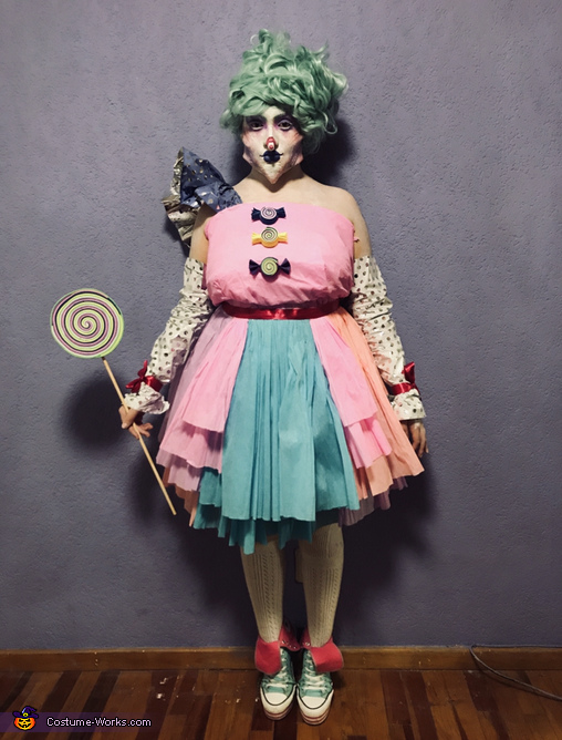 Amelia the Candy Queen Homemade Costume